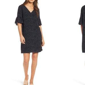 NEW • Madewell • Flutter Sleeves Polka Dot Dress